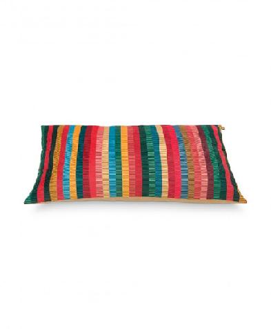 Cushion Jacquard Stripe Multi 50x70cm