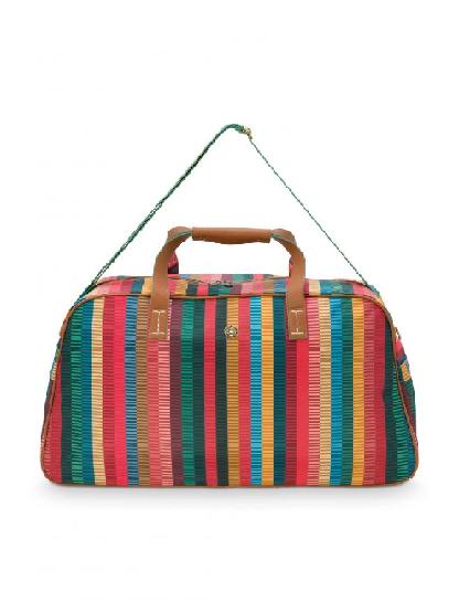 Weekend Bag Medium Jacquard Stripe Multi 57x22x37cm