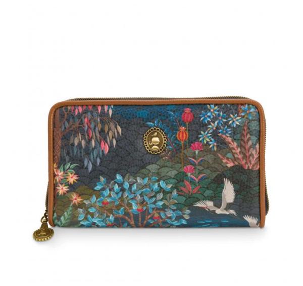 Wallet Pip Garden Dark Blue 18x11x3cm