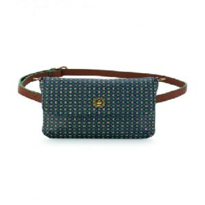 Belt Bag Star Tile Dark Blue 19x15.5x3.5cm