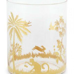 Water Glass La Majorelle Gold 250ml PIP's