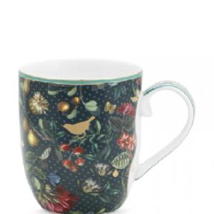 Mug Small Winter Wonderland Overall Dark Blue 145ml