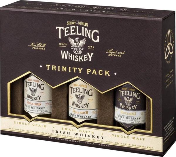 Teeling Kadobox Whisky 3 flesjes