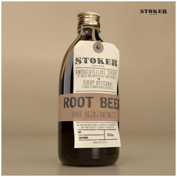 STOKER SODA Root Beer 500 ml