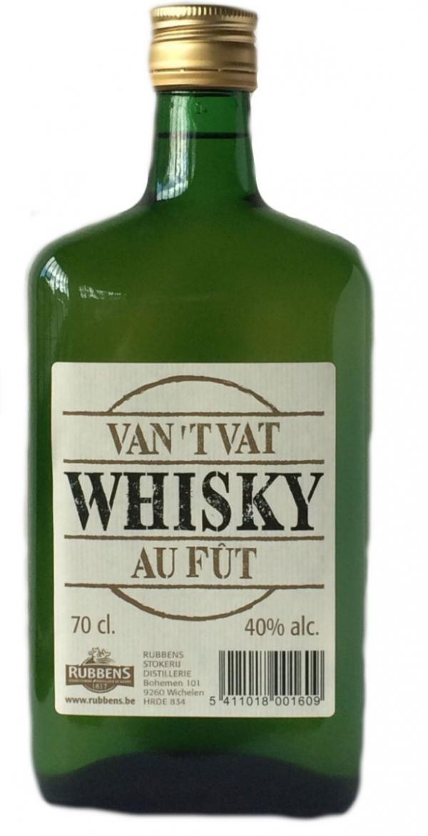 Whisky van t Vat Rubbens 40° 70 cl