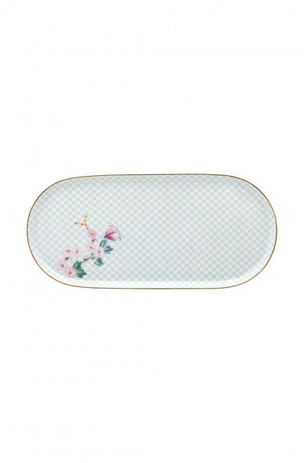 Plate Sugar & Creamer Kamini White 25x12cm