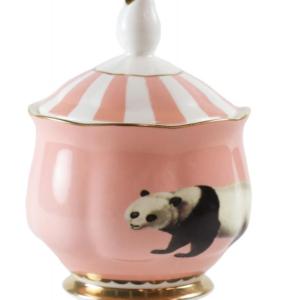 Yvonne Ellen Sugar Bowl Panda , 12x9cm /1