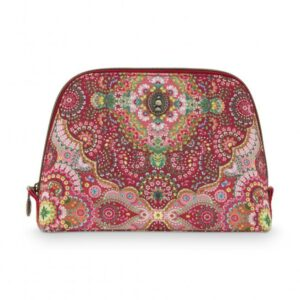 Cosmetic Bag Triangle Medium Moon Delight Red PIP