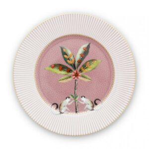 Plate La Majorelle Pink 17cm