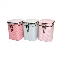 Bewaarblik, Case BELLA, 150gr, licht roze