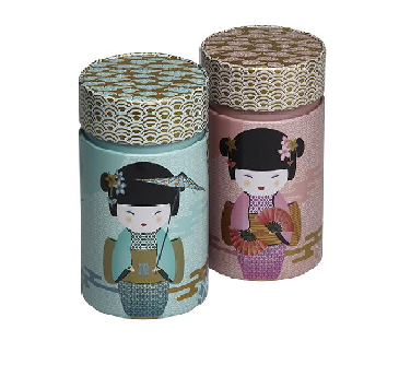 NEW LITTLE GEISHA 2 mixed colors rond