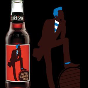 ARTISAN Barrel smoked cola 20 cl