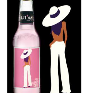 ARTISAN Pink citrus TONIC 20 cl